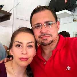 cliente dj para fiestas Alejandra y Jesús