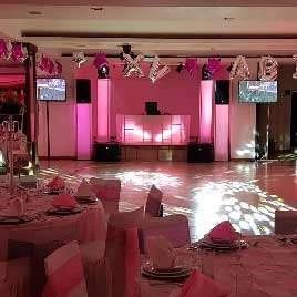 dj para fiestas KLS Montaje en rosa XV años